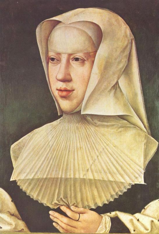 Бернард ван Орлей. Портрет Маргариты Австрийской