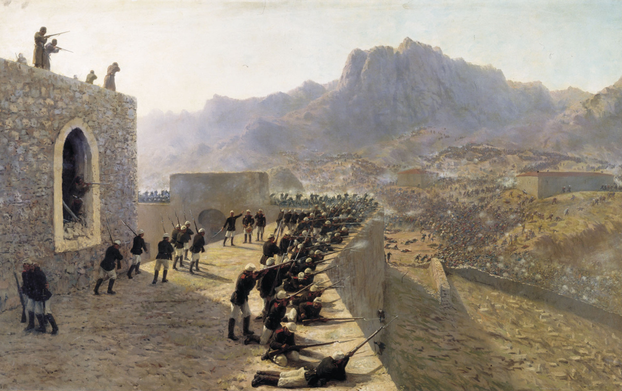 Lev Feliksovich Lagorio. Repulsed the storming of Bayazet fortress, 8 June 1877
