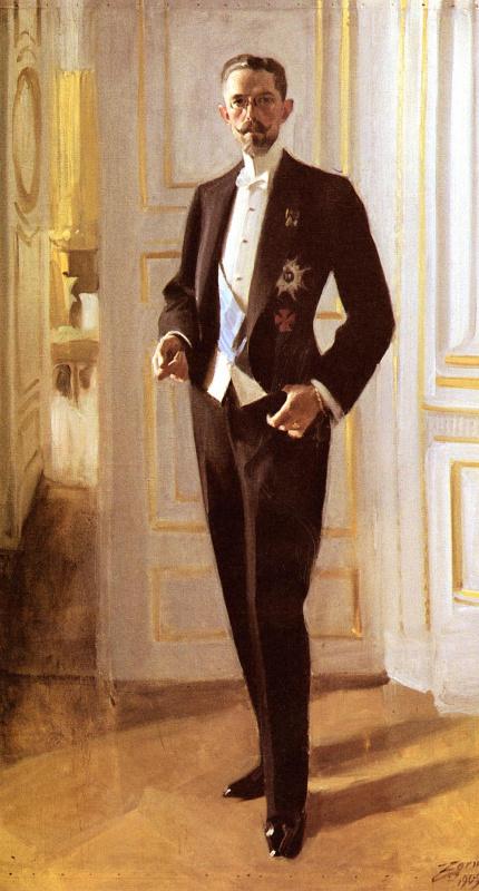 Король Густав Пятый
