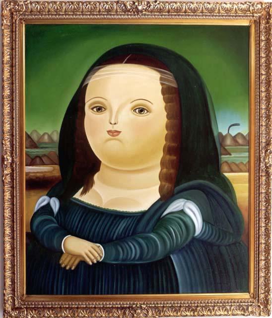 Фернандо Ботеро. Мона Лиза
