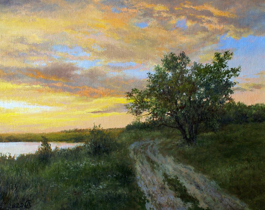Сергей Владимирович Дорофеев. Evening dawns
