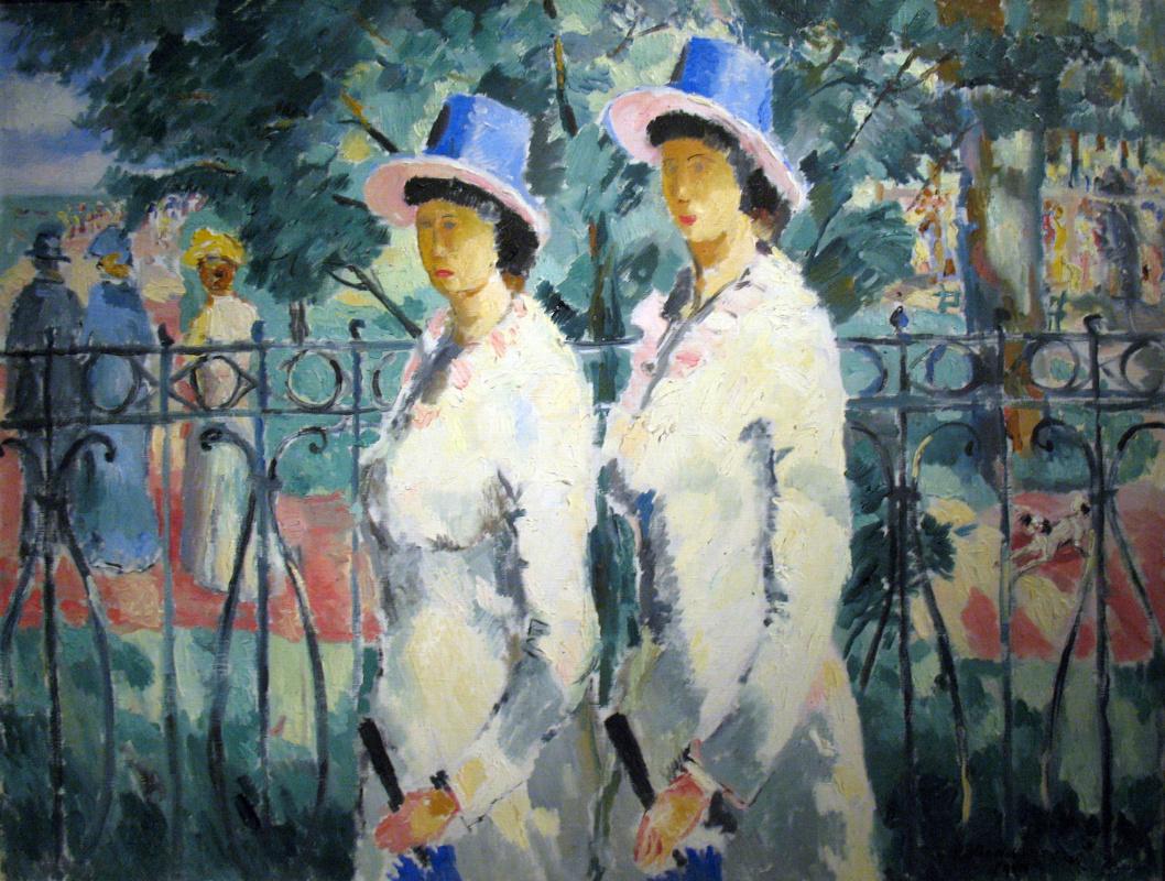 Kazimir Malevich. Sisters