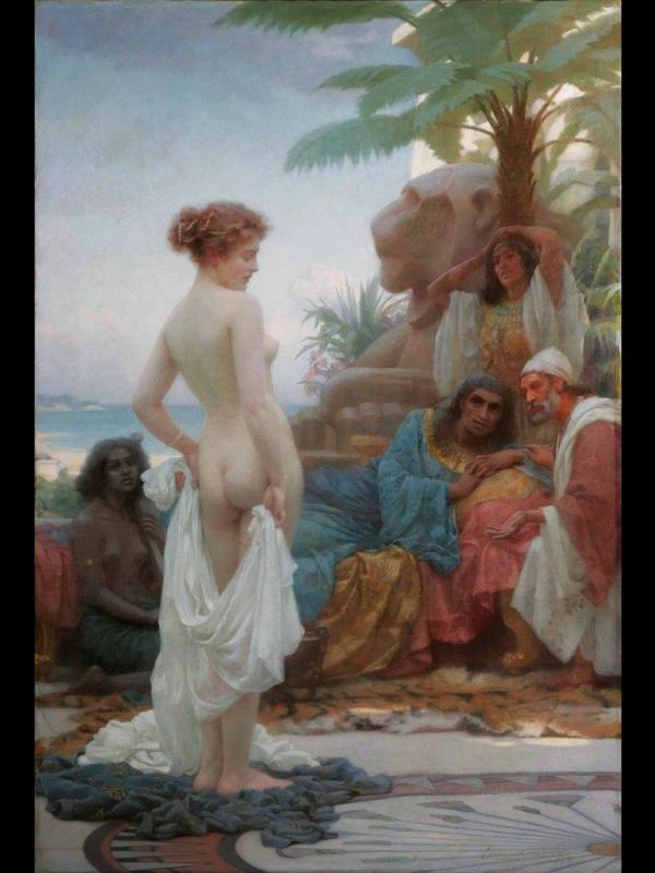 Эрнест Норман. Белая рабыня