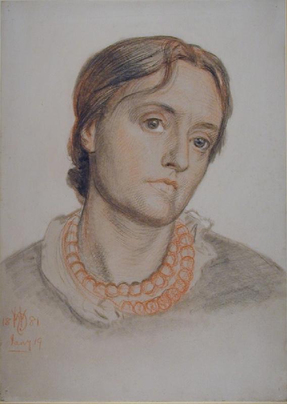 Уильям Холман Хант. Портрет миссис Эдит Холман Хант, второй жены художника
