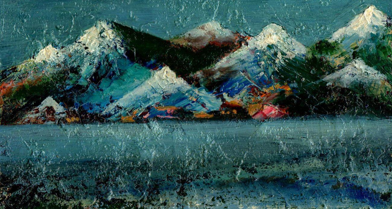 Vladimir Vasilyevich Abaimov. The Mountains