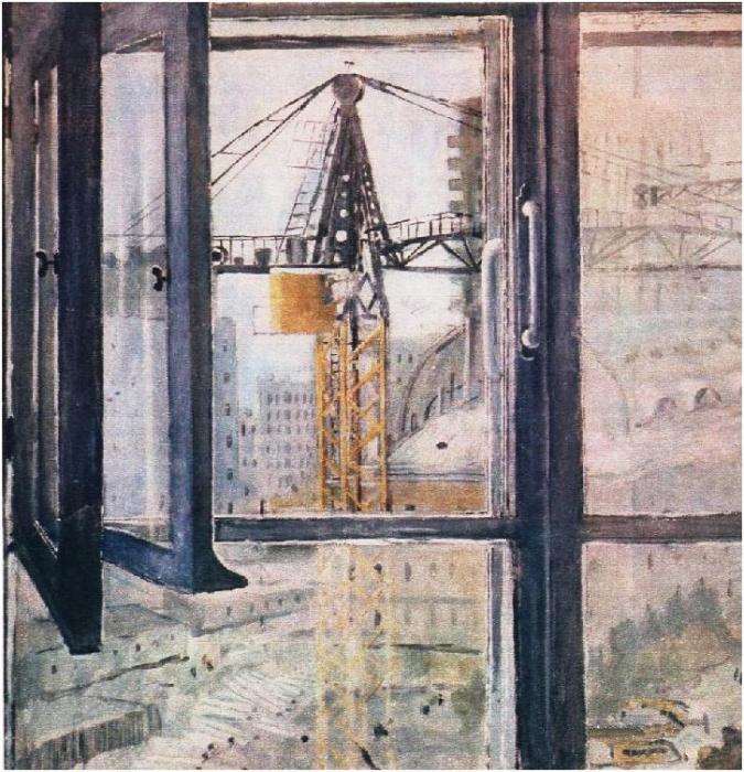Юрий Иванович Пименов. Окно