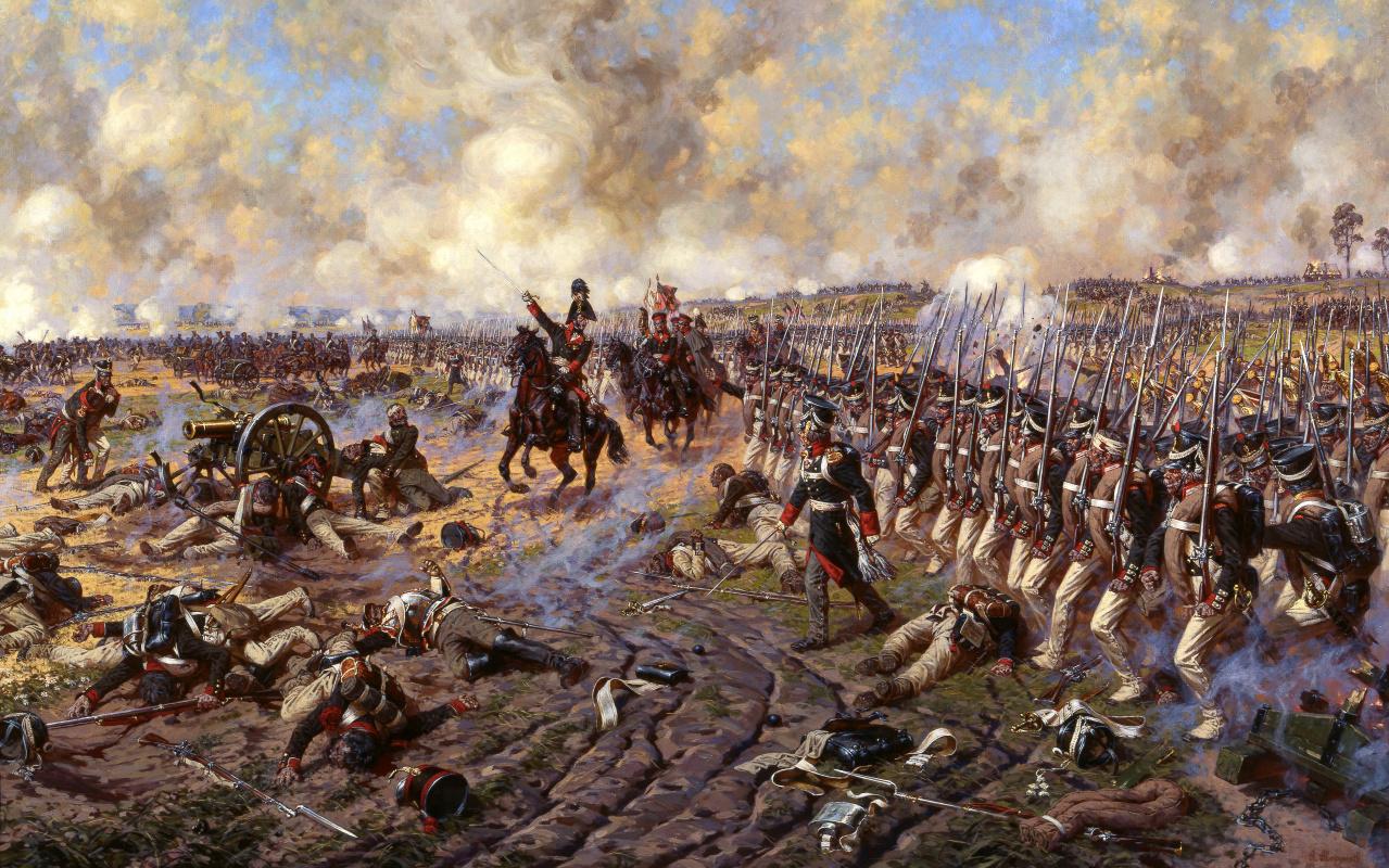 Александр Юрьевич Аверьянов. Князь Багратион в Бородинском сражении