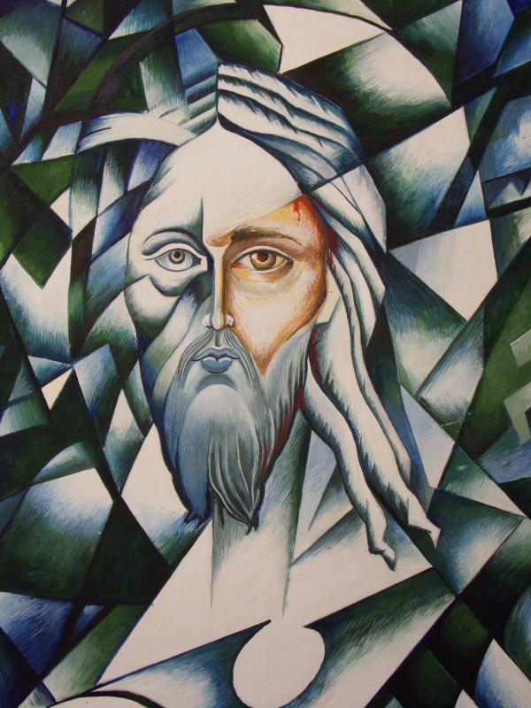 Peter Alexandrovich Shein. Flogging of Christ
