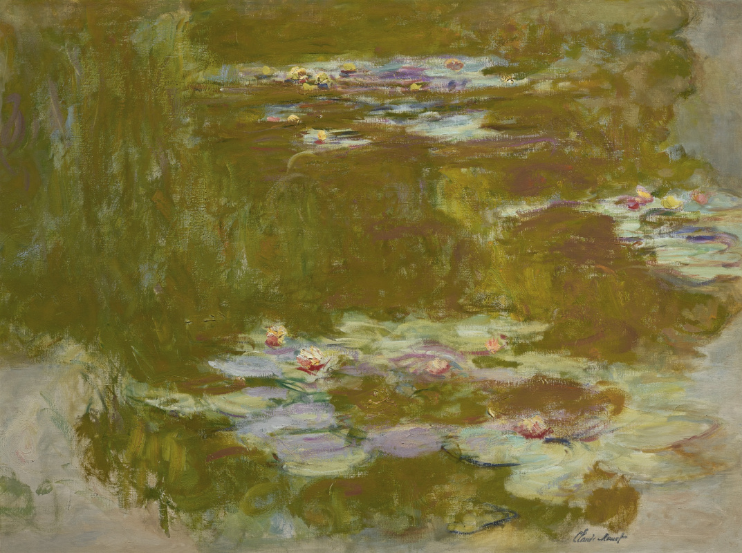 Claude Monet. Lily pond