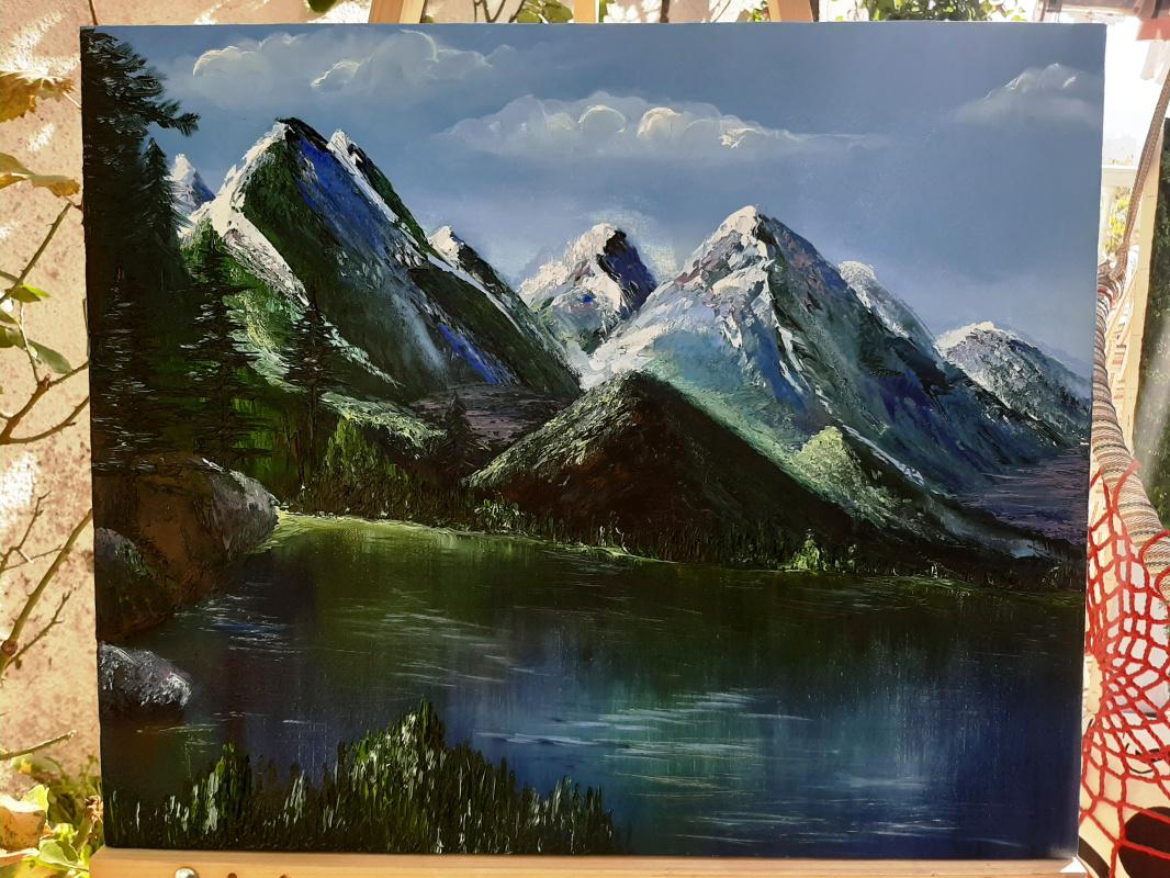 Natalia Zhuravleva. The mountains