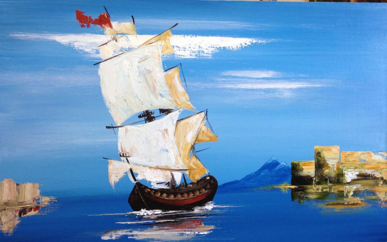 Olga Pakhomenko. All sails