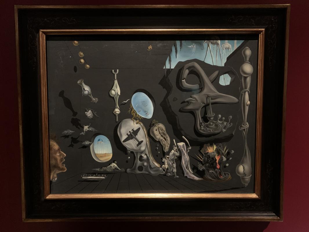 Salvador Dale. Uranium-atomic melancholy idyll