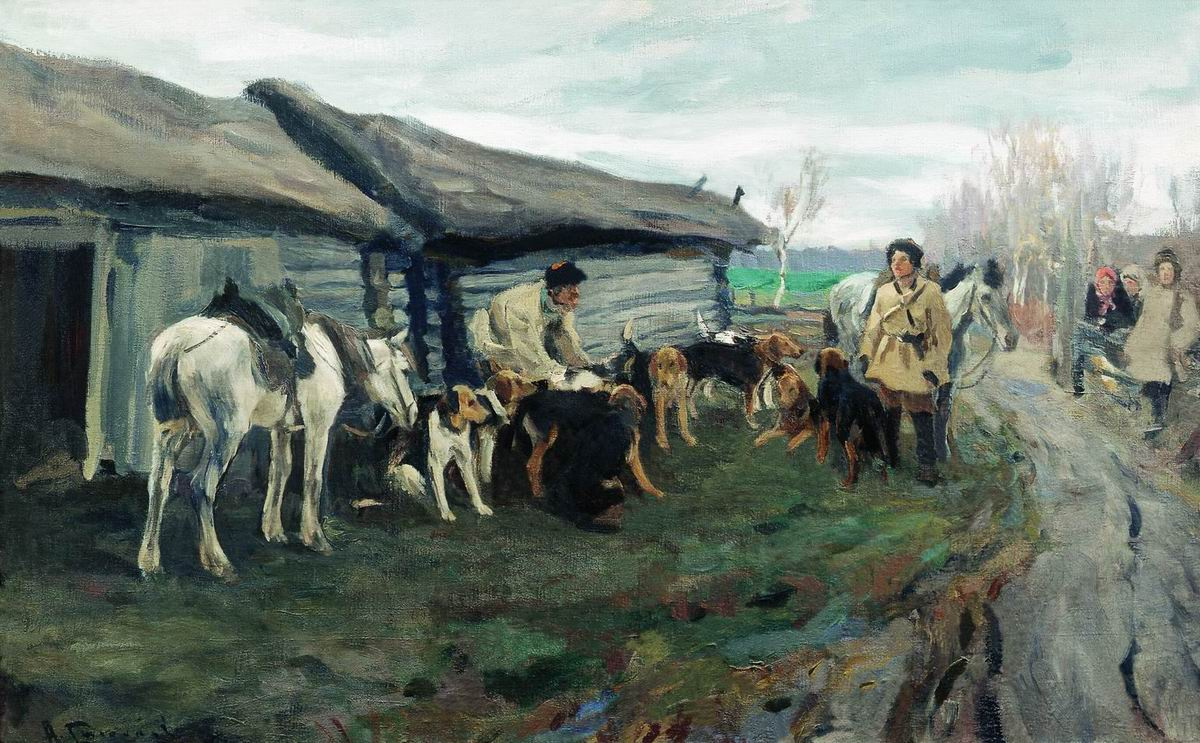 Alexey Stepanovich Stepanov. Collection hunting
