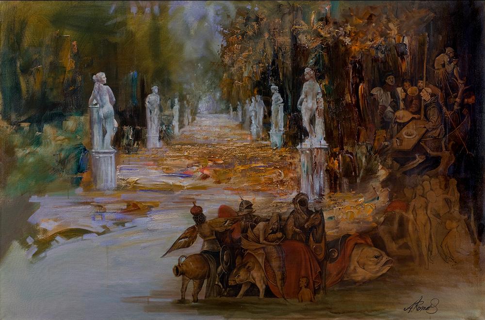 Andrey Romasyukov. Autumn with Jerome Bosch