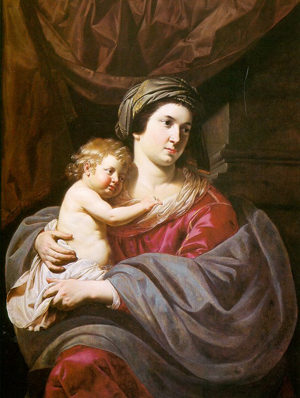 Билджерт. Матерь с младенцем