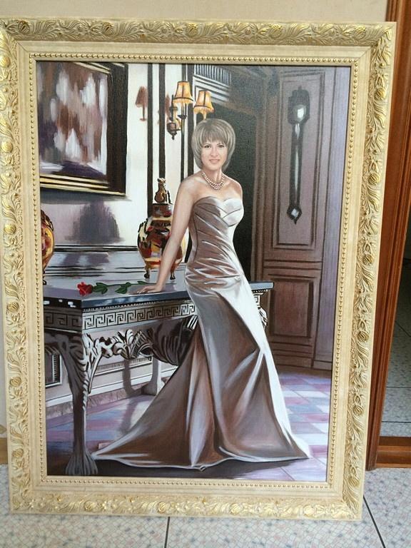 Анна Александрова. Портрет по фото