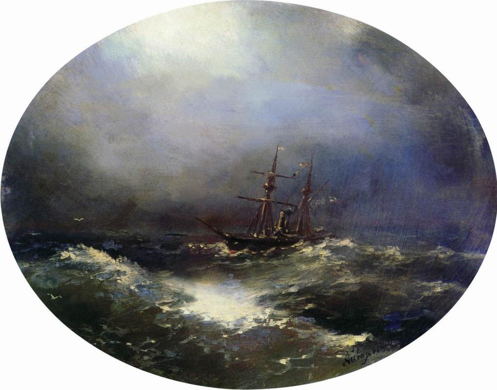 Ivan Aivazovsky. Sea view