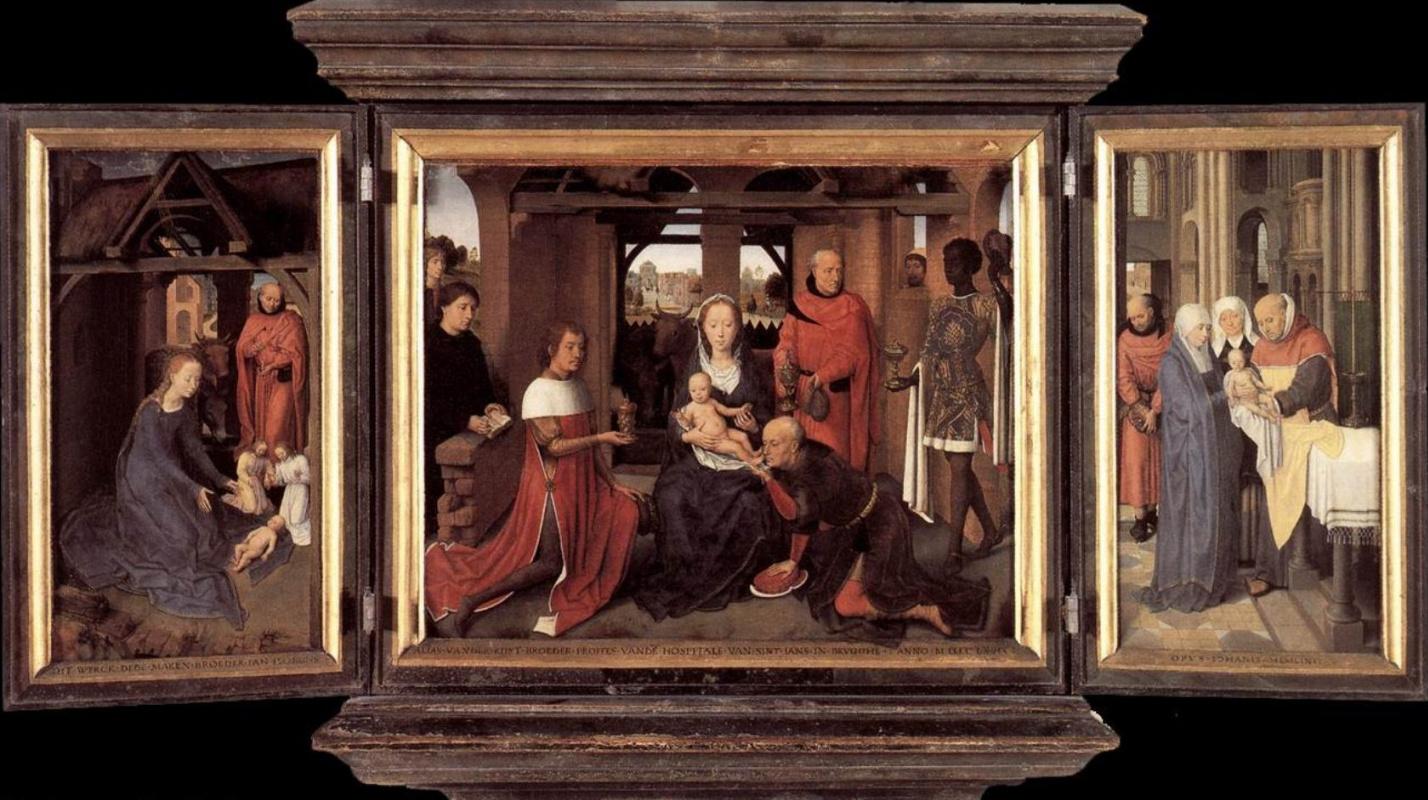 Ганс Мемлинг. Триптих Яна Флоренса