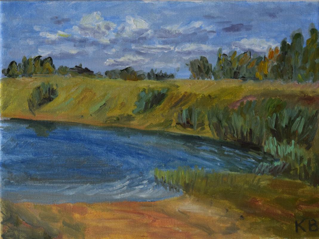 Ksenia Vitalievna Frolova. Lake Chabyshevo