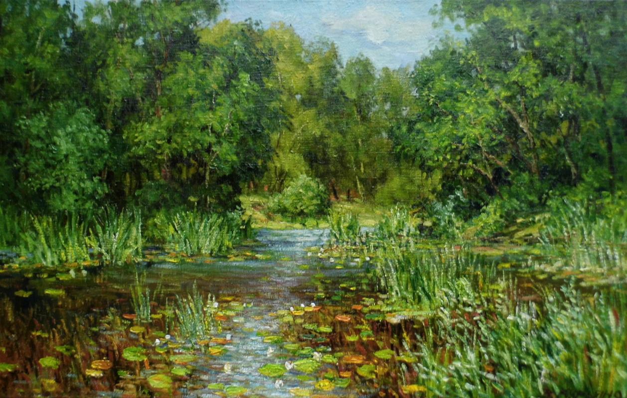 Victor Vladimirovich Kuryanov. Quiet river
