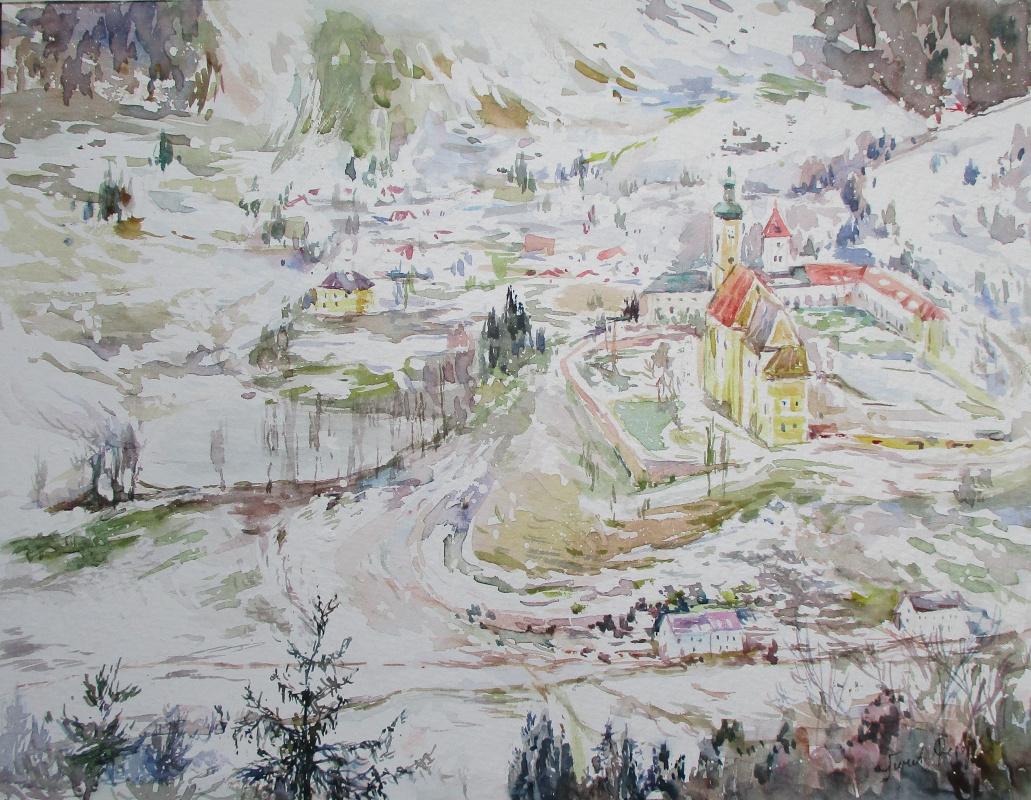 Fedor Dmitrievich Usachev. Austrian fairy tale.