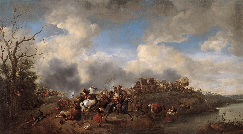 Филипс Вауверман (Воуверман). Кавалерийское сражение