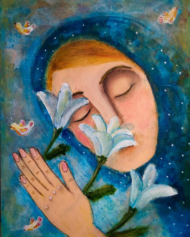 Natalia Leontiev. Annunciation