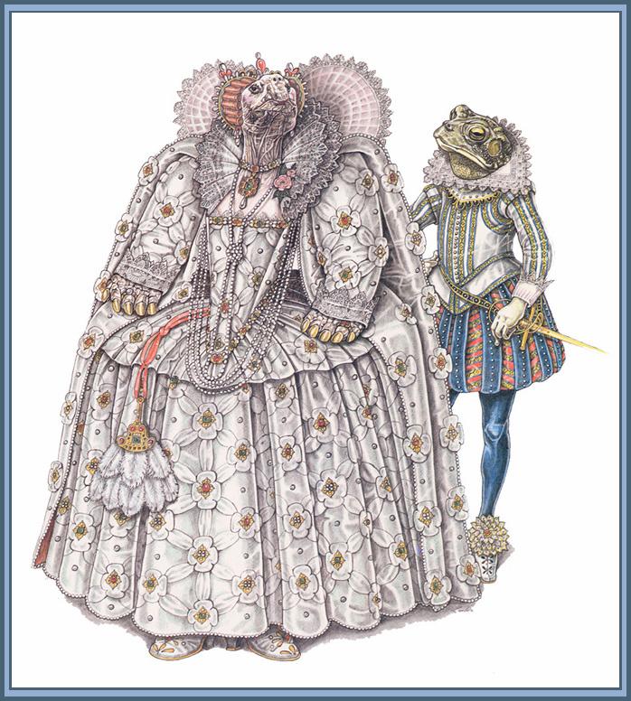 Леонард Любин. Эпоха королевы Елизаветы