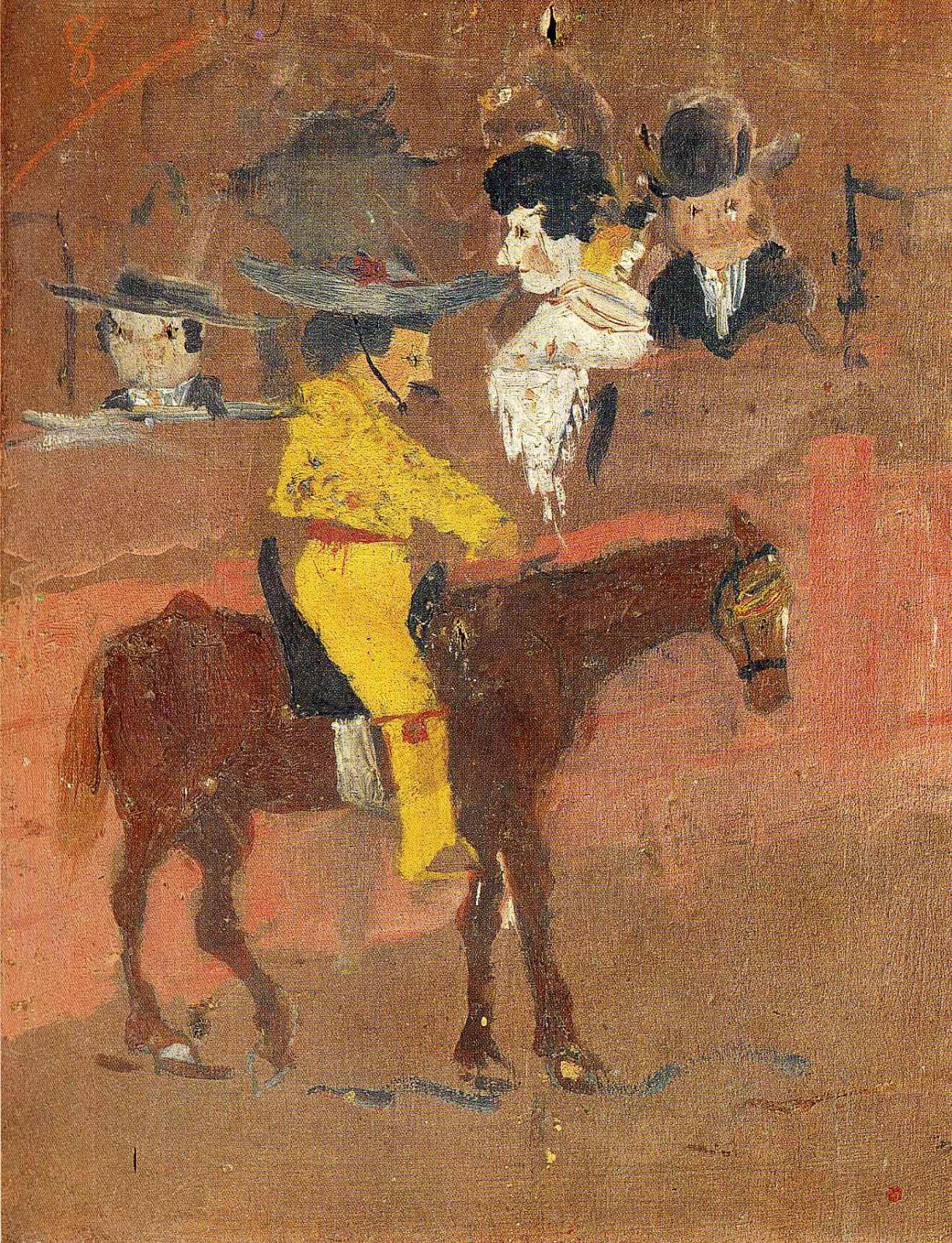 Пабло Пикассо. Желтый пикадор