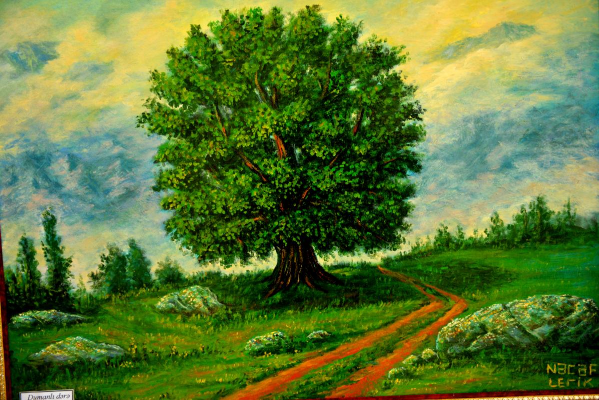 Najaf Mamedali oglu Mamedov. Oak