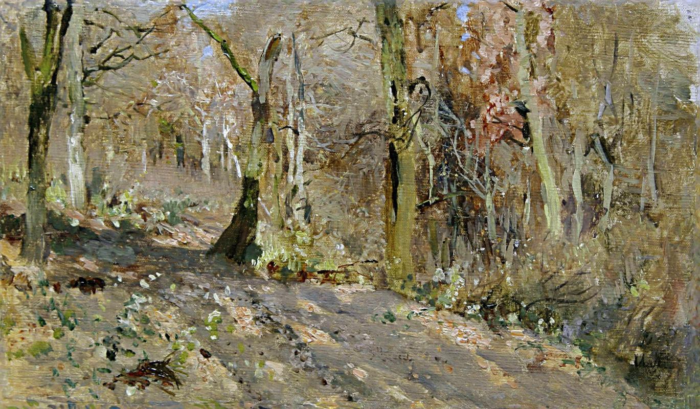 Исаак Ильич Левитан. Осенний лес