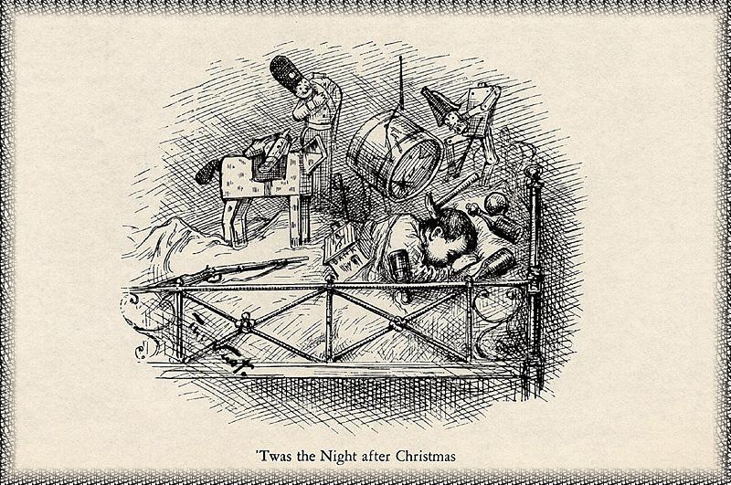 Thomas Nast. The night before Christmas