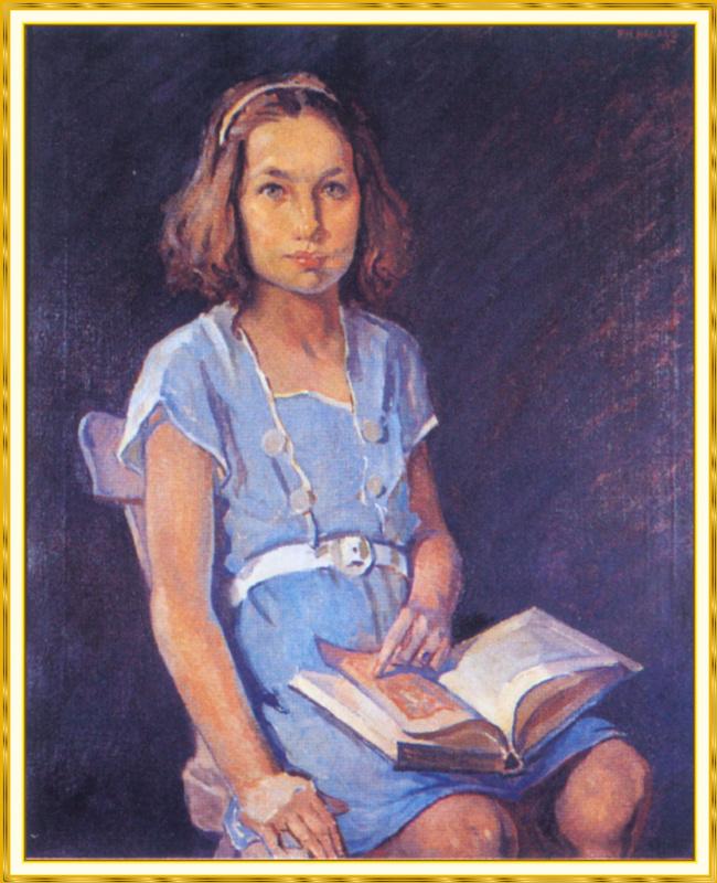 Паула Балано. Портрет Бетти Энн