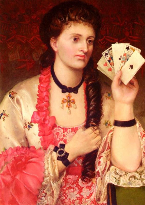 Эмма Сандис. Карты в руках