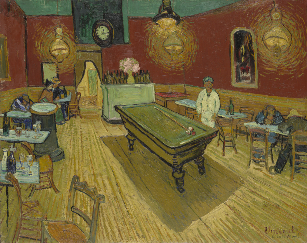Vincent van Gogh. Night cafe