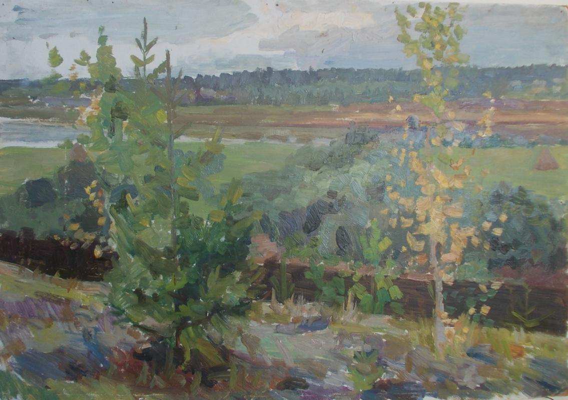 Nina Vasilievna Sedova. Beginning of autumn