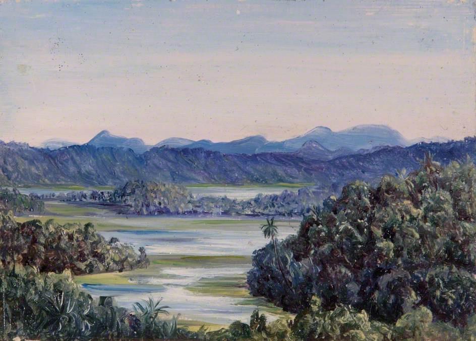 Marianna North. Ceylon Landscape