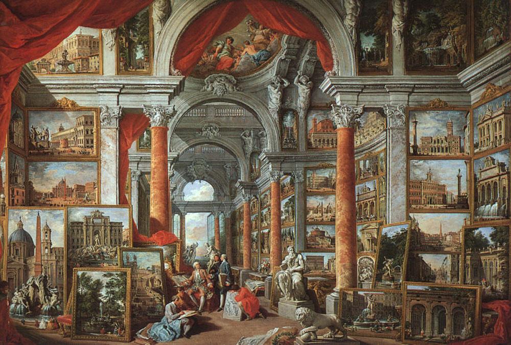 Джованни Паоло Паннини. Фотогаллерея с видами современного Рима