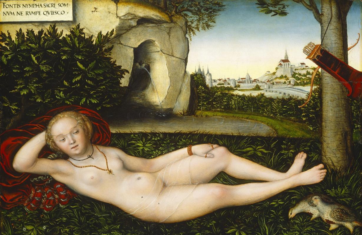 Lucas Cranach the Elder. Nymph of spring