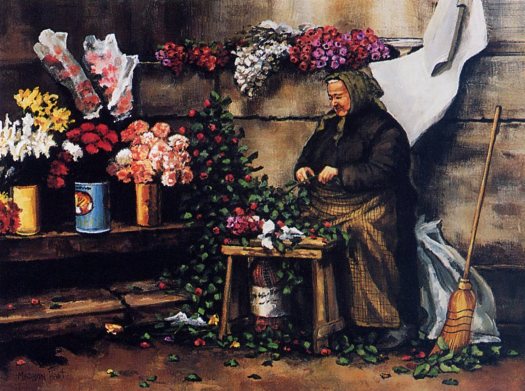 Мэдисон Харт. Цветы