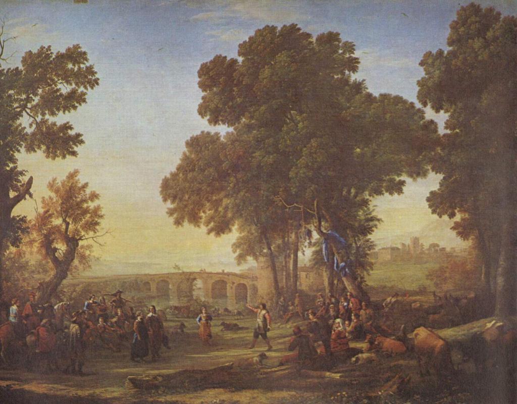 Клод Лоррен. Сельский танец
