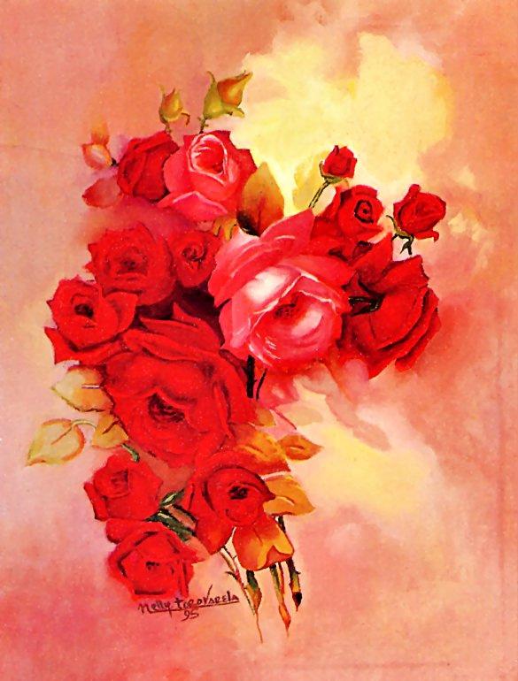 Нелли Торо Варела. Розы