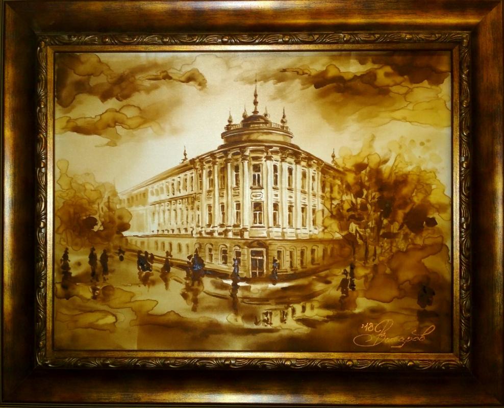 Roman Andreevich Zakharov. Old Vologda