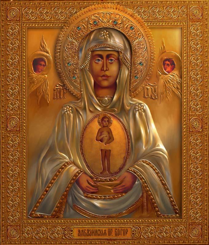 Анри Немо. Албазинская икона Божией Матери
