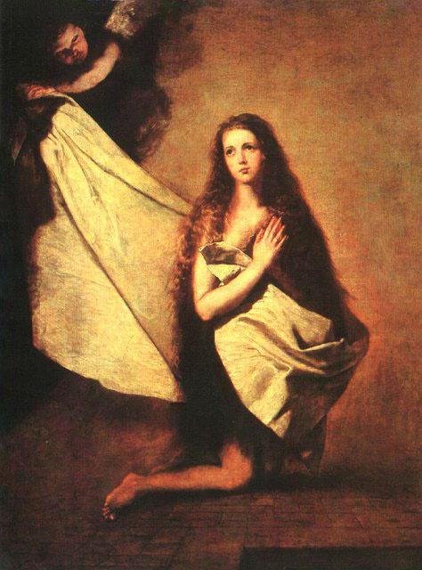 Jose de Ribera. Holy Inessa