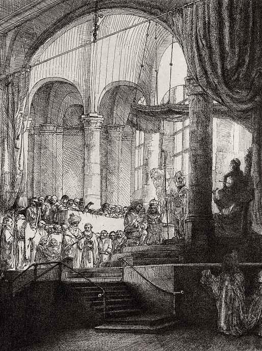 Рембрандт Харменс ван Рейн. Медея, или Бракосочетание Язона и Креузы