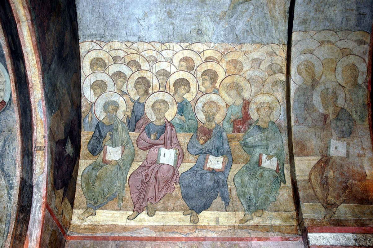 Andrey Rublev. The Last Judgment: Angels and Apostles