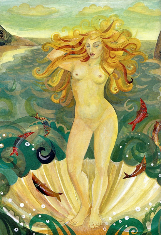 Сара Молодая. Венера