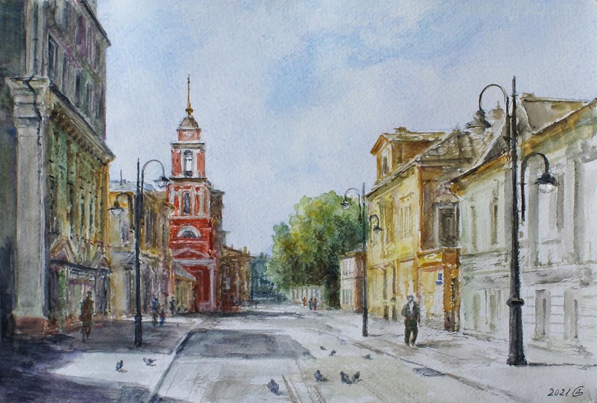 Сергей Владимирович Дорофеев. Morning on Pyatnitskaya