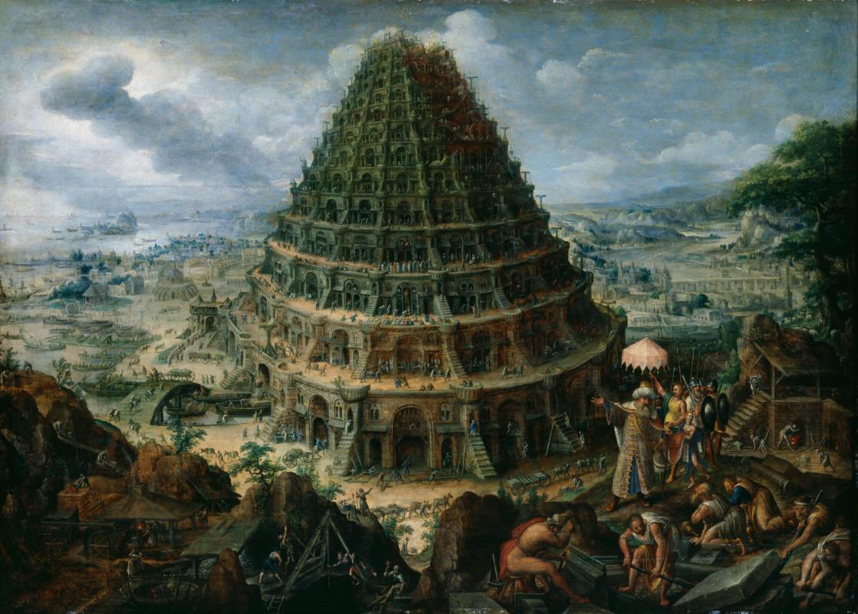 Мартен ван Фалькенборх. Строительство Вавилонской башни